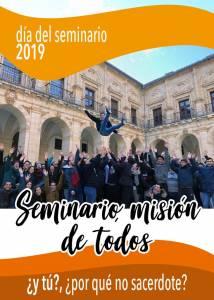 «El Seminario, misión de todos». Campaña del Día del Seminario en la Diócesis