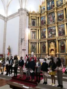 Confirmaciones en la parroquia de Villamayor de Santiago