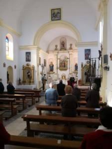 Visita pastoral a Saceda de Río y Moncalvillo de Huete por parte del Obispo de Cuenca