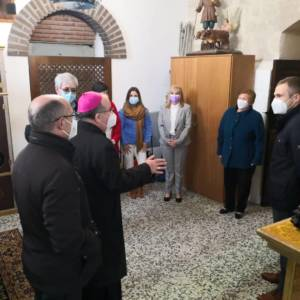 Visita Pastoral del Sr. Obispo a las localidades de visita Pastoral a Loranca y Carrascosa del Campo