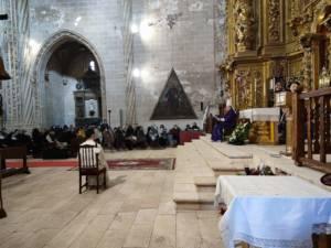 Monseñor José María Yanguas ordena diácono al seminarista Fidel Gómez Leal