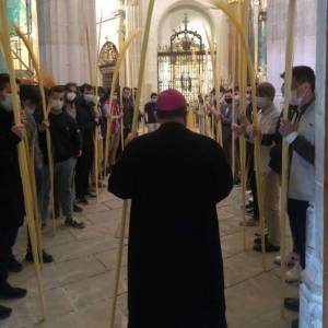 Homilía del Sr. Obispo el Domingo de Ramos