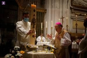 Homilía del Sr. Obispo en la Vigilia Pascual