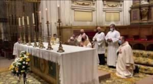Homilía del Sr. Obispo en la Misa del Jueves Santo, Misa de la Cena del Señor