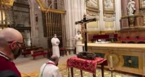 Homilía del Sr. Obispo en la celebración de la Pasión del Señor en la tarde del Viernes Santo