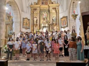 Confirmaciones en la parroquia de Mota del Cuervo