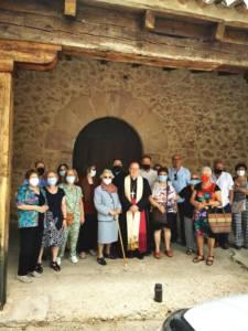 Monseñor José María Yanguas realiza una Visita Pastoral a Garaballa