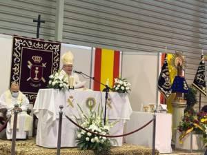 Misa en honor a la Virgen del Pilar