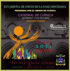El 17 de octubre a las 18 horas en la Catedral apertura de la Fase Diocesana del Sínodo.
