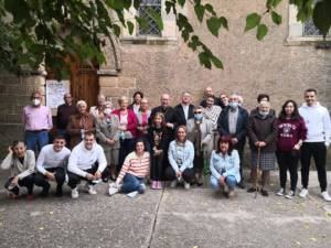 El Sr. Obispo realiza una Visita Pastoral a Pajares y Villaseca