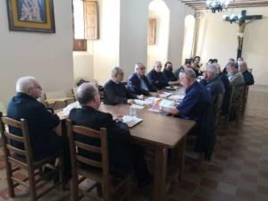 Jornada de trabajo de Mons. Yanguas con los sacerdotes de la Vicaría de Villalba de la Sierra, Beteta-Priego y Moya